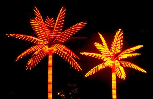 Новогодние пальмы