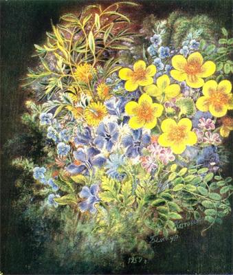 Катерина Білокур. Квіти