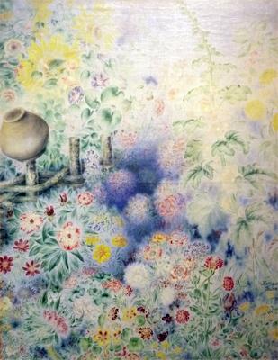 Катерина Білокур. Квіти в тумані