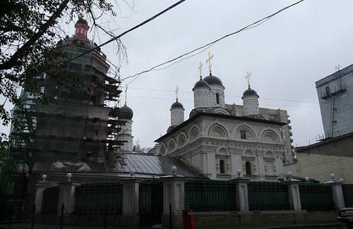 Храм апостола и евангелиста Иоанна Богослова на Бронной в Москве