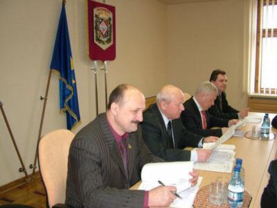 П. Ворона, В. Гришко, В. Асадчев, В. Марченко | Фото:  oblrada.pl.ua