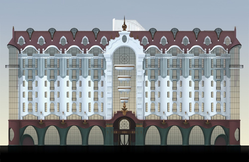 Проект будинку по вулиці Жовтнева, 46в