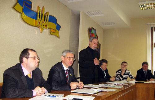 Збори ініціативної групи із створення громадської ради