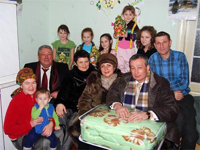 У багатодітній сім'ї Кулакевичів