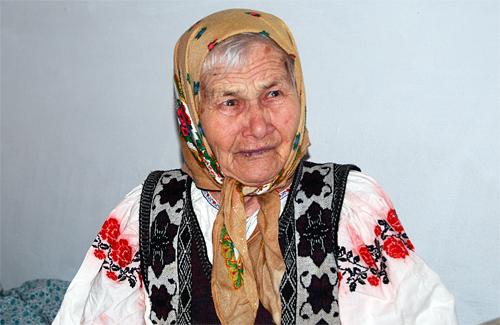 Столітня Меланія Олексіївна Різниченко