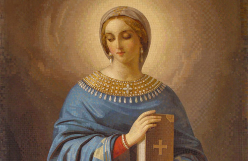 Анастасия Узорешительница. Мозаики Исаакиевского собора