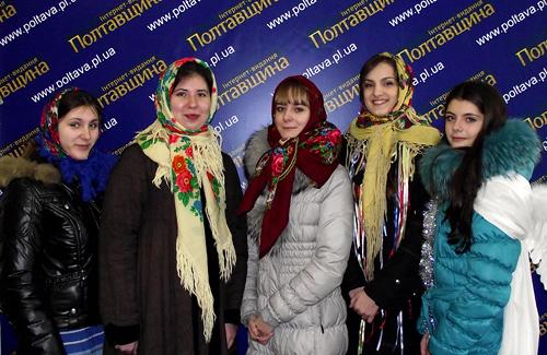 Девушки из театральной студии ПНТУ