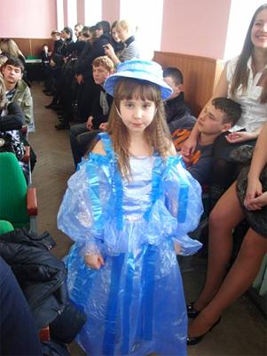 Поліетиленові сукні