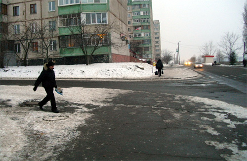 Огнивские улицы дождались уборки