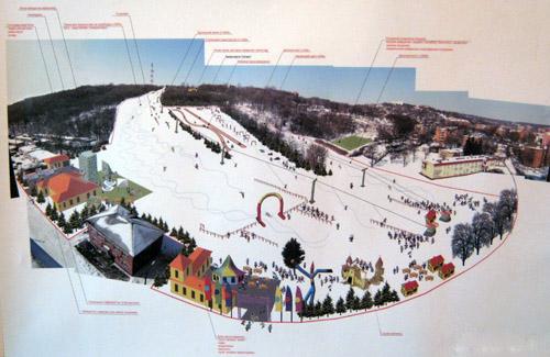 Передпроектні пропозиції спортивно-оздоровчого комплексу для зимових розваг та активного відпочинку