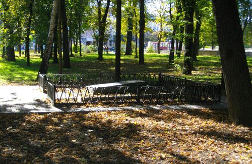 В Петровском парке похоронены красноармейцы, погибшие в бою с войсками петлюровцев