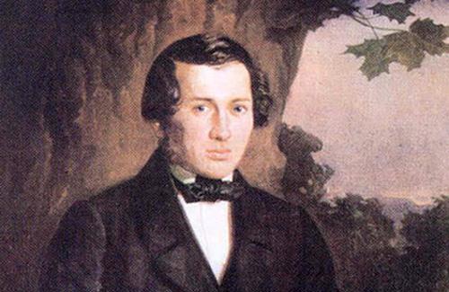 Фрагмент портрету Євгена Гребінки