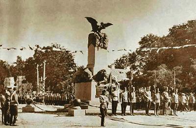 відкритя пам'ятника полковнику Келіну