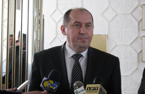 Заступник міністра МНС України Віталій Бут