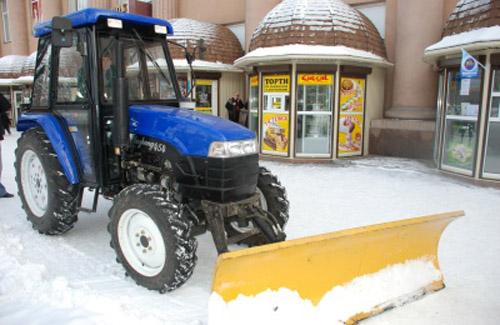 Трактор «Luzhong 454»