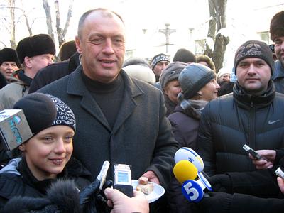 Олександр Мамай з сином