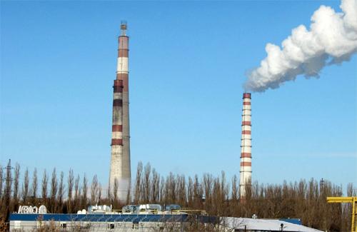 На Кременчугской ТЭЦ на минувшей неделе возникли технические проблемы