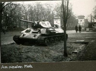 Т-34 біля Корпусного парку