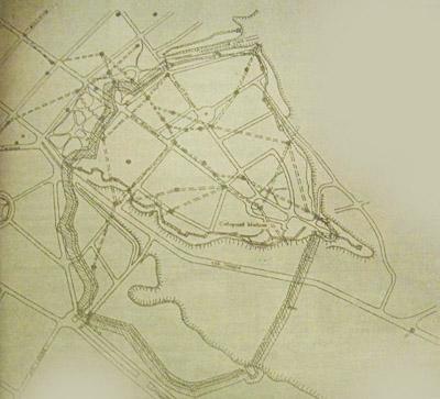 Мапа Полтавсьої фортеці