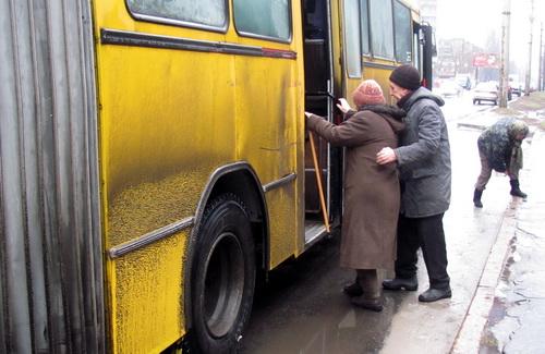 70% пасажирського транспорту Полтави рухається у режимі маршрутного таксі
