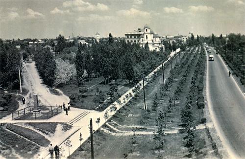 Вул. Фрунзе до реконструкції. Фото поч. 1960-х рр.