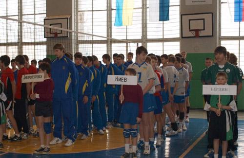 Стартував традиційний турнір з волейболу