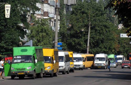 Кременчугские маршрутки