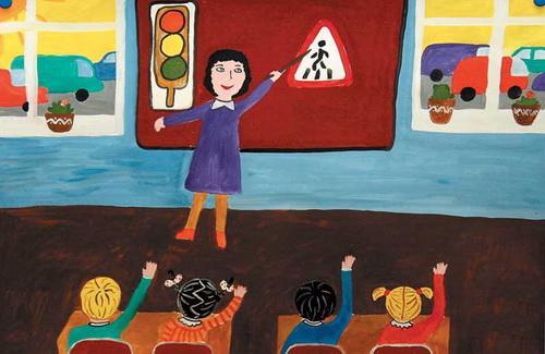 ДАІ запрошує усіх взяти участь у конкурсі на кращий дитячий малюнок