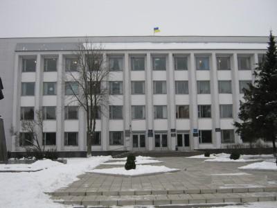 Зіньківська райдержадміністрація та районна рада. Фото ГУ