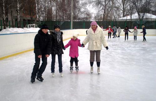 Танцы на льду по-полтавски