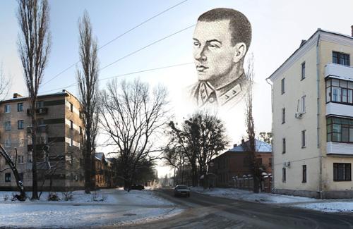 Улица Кагамлыка в Полтаве