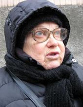 Тамара, пенсіонерка