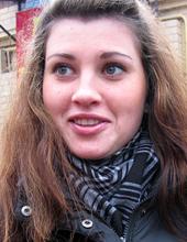 Аня, студентка