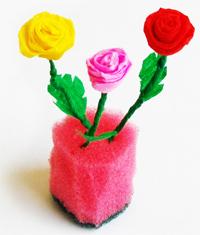 Цветы-безделушки