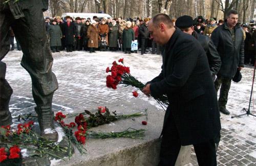 Полтава відзначила 22-у річницю виведення радянських військ з Афганістану