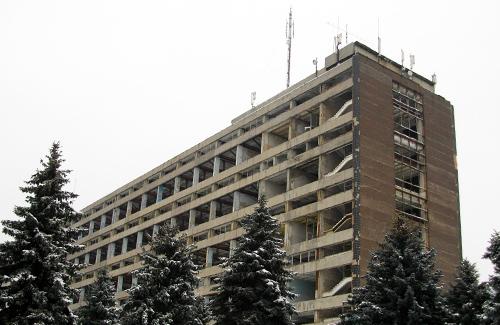 Бывший корпус завода «Знамя»