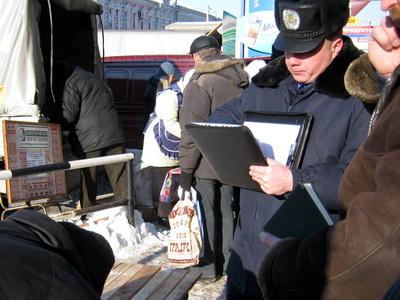 Правоохоронці встигли зловити нечесного продавця, який продавав брудне сало без належних санітарних умов