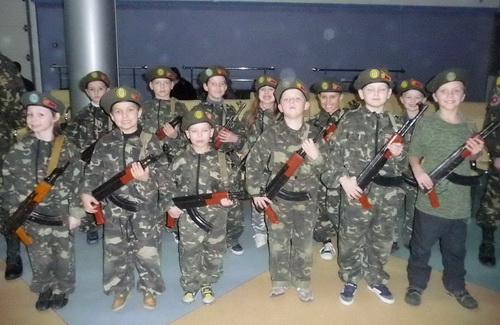Наймолодші вихованці «Воїна»