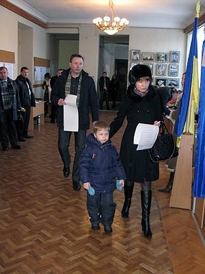 Виктория Матковская голосовала по дополнительному списку избирателей
