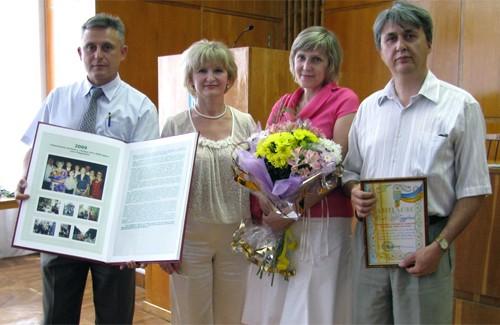 Олександр Поліщук, Галина Пилипенко та одна з кращих родин Нагайник