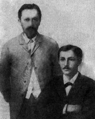Брати Юлій і Іван Буніни. 1891 рік