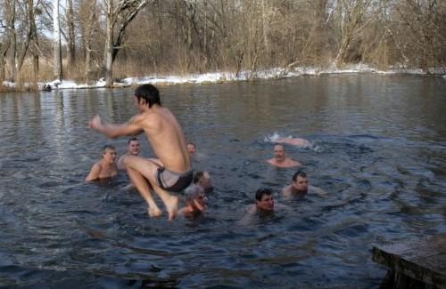 Праздник Крещения на пятой скважине первого водозабора «Полтававодоканала»