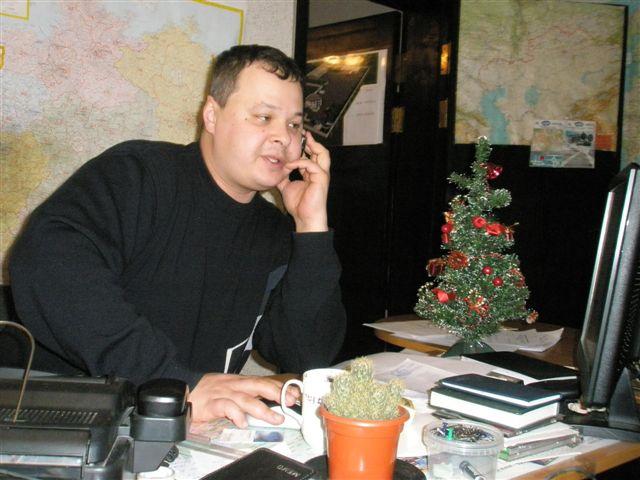 Менеджер транспортной фирмы «Корпорация Магнетик» – Виктор Чижевский
