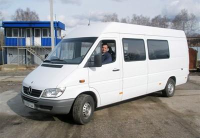 Пассажирские перевозки микроавтобусом Mersedes