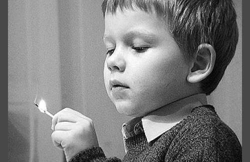 Спички детям – не игрушка