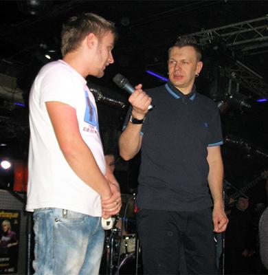 Сергій Козак та Сашко Положинський