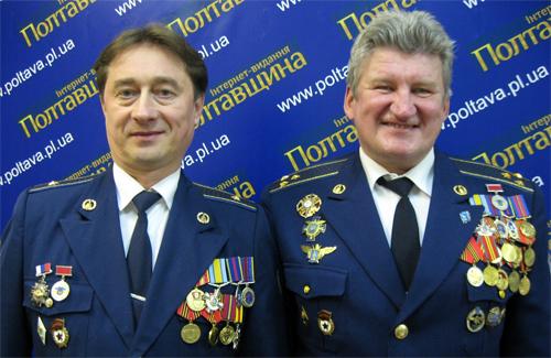 Друзья, которых объединило небо: Владимир Лазарев и Валерий Верескул