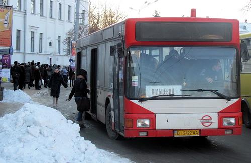 Вартість проїзду в Полтаві можуть знизити до 1,75 грн.