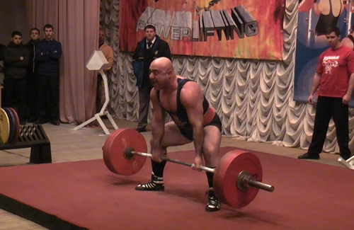 Лерник Матосян, тяга 277,5 кг