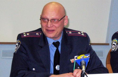 Начальник УГАИ УМВД Украины в Полтавской области Александр Штепа